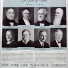 1935 New York Life Insurance Company ad
