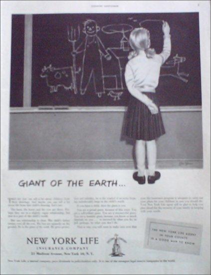 1952 New York Life Insurance Company ad #2