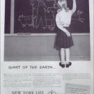1952 New York Life Insurance Company ad #2
