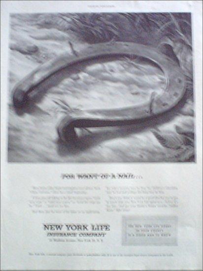 1952 New York Life Insurance Company ad #3