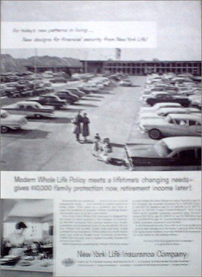 1958 New York Life Insurance Company ad