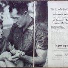 1956 New York Life Insurance Company ad