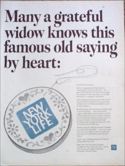New York Life Insurance Company ad #10