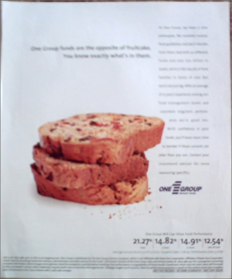2000 One Group Mutual Funds ad