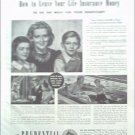 1942 Prudential Insurance ad