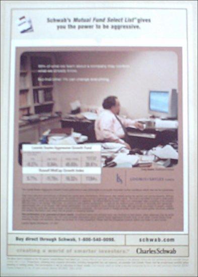 2001 Charles Schwab Investment ad