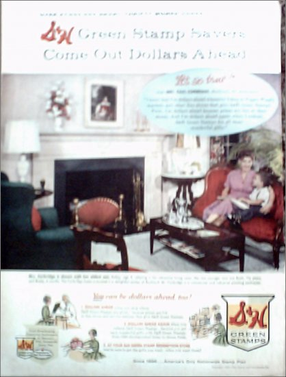 1959 S and H Green Stamps ad #1