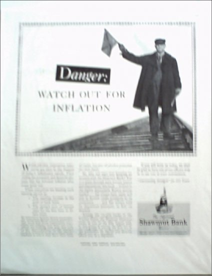 Shawmut Bank ad