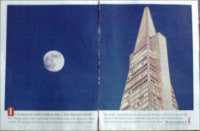 1995 Transamerica Financial ad