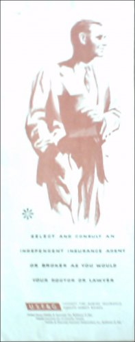 1956 U.S.F & G. Fidelity ad