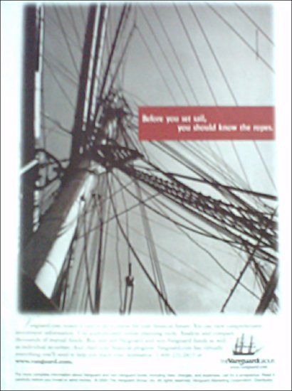 2000 Vanguard Group Investment ad #1