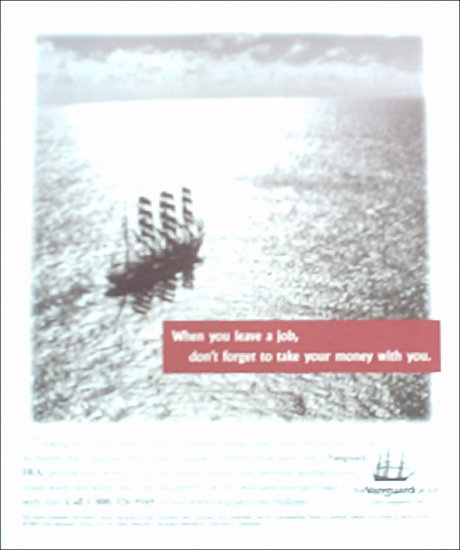 2001 Vanguard Group Investment ad #1