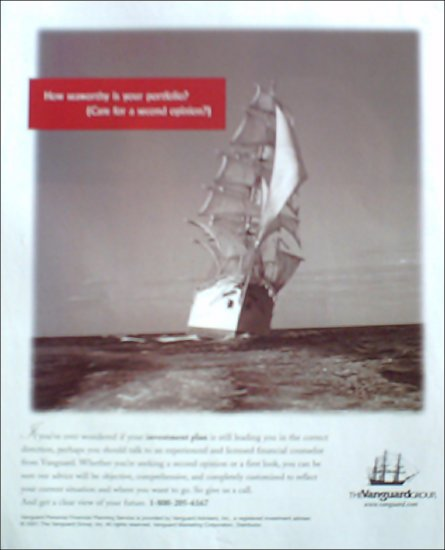 2001 Vanguard Group Investment ad #2