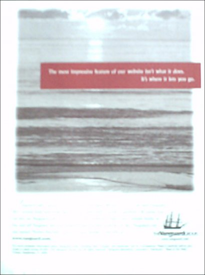 2001 Vanguard Group Investment ad #3