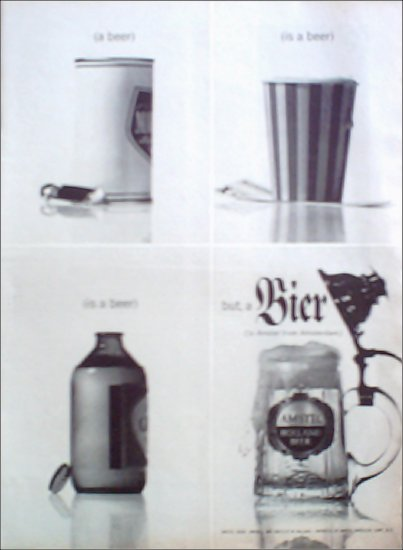 Amstel Beer ad