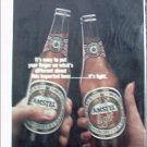 Amstel Light Beer ad