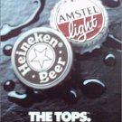 1990 Amstel Light & Heineken Beer ad