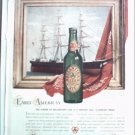 1940 Ballantine Ale Ship ad