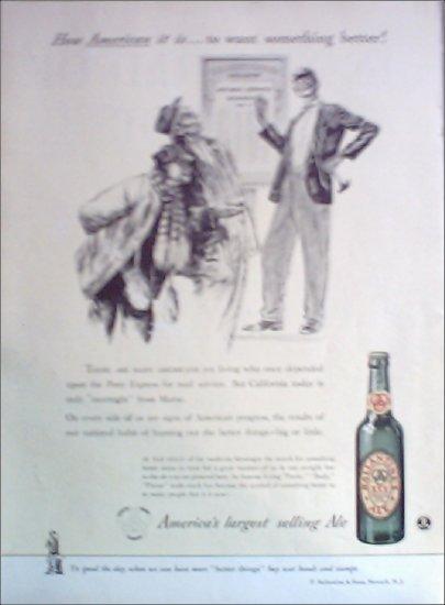 1942 Ballantine Ale ad