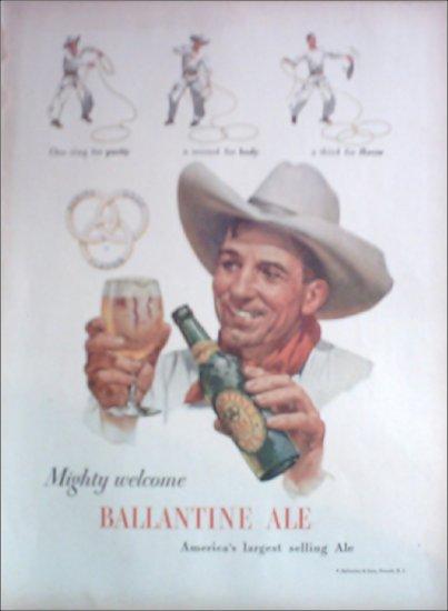 1948 Ballantine Ale ad