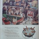 1953 Ballantine Beer ad Dining Out