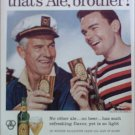 1956 Ballantine Ale ad