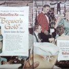 1957 Ballantine Ale Restaurant ad