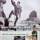 1963 Ballantine Ale ad Ale Man