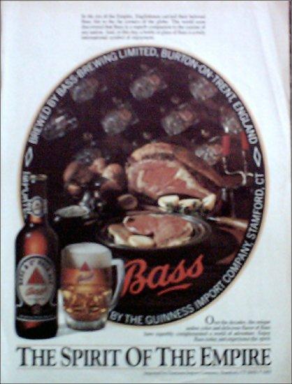 1985 Bass Ale ad