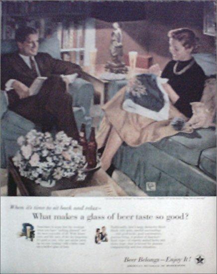 1955 Beer Belongs ad number 117