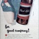 1956 Black Label Beer ad