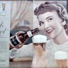 1957 Black Label Beer ad
