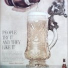 1960 Black Label Beer ad
