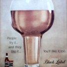 Black Label Beer ad #1
