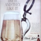 Black Label Beer ad #2