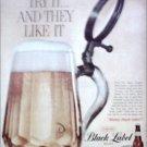 Black Label Beer ad #2