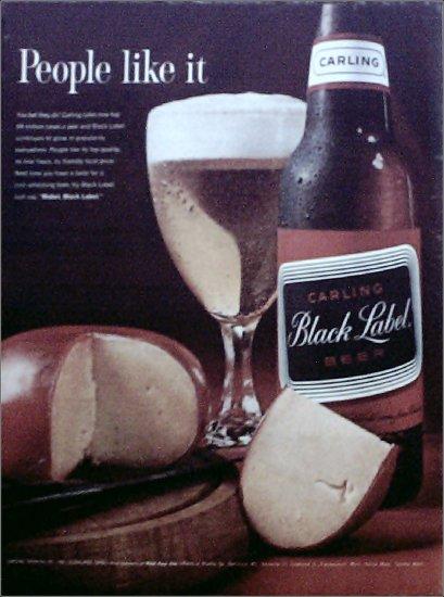 1962 Black Label Beer ad #2