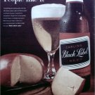 1962 Black Label Beer ad #2