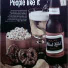 1964 Black Label Beer ad