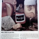 1965 Black Label Beer ad