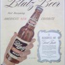 1944 Blatz Beer ad