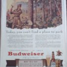 1941 Budweiser Beer ad