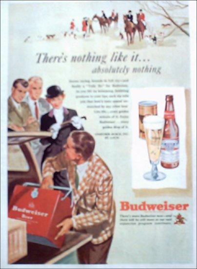 1949 Budweiser Beer ad #3