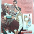 1950 Budweiser Beer ad