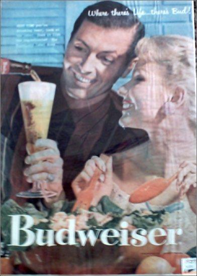 1957 Budweiser Beer ad #1