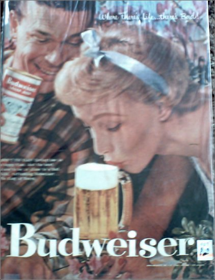 1957 Budweiser Beer ad #2