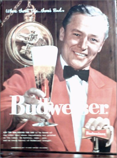 1958 Budweiser Beer ad #1