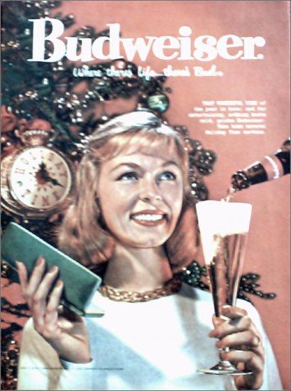 1958 Budweiser Beer ad #2