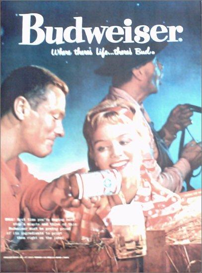1959 Budweiser Beer ad #1