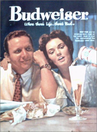 1959 Budweiser Beer ad #2